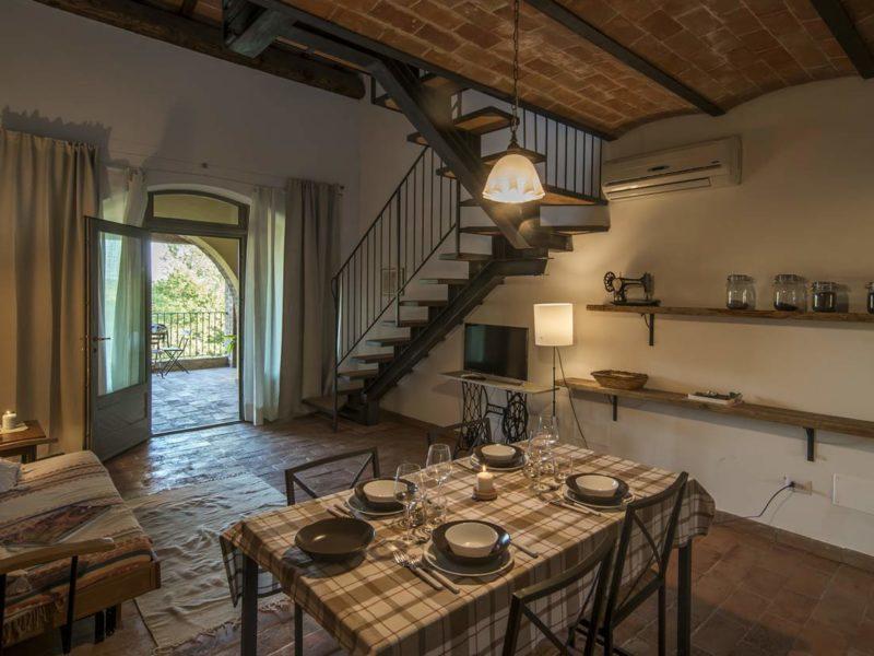 Dettaglio Appartamento Maghino casa vacanze Le Fornaci Arezzo