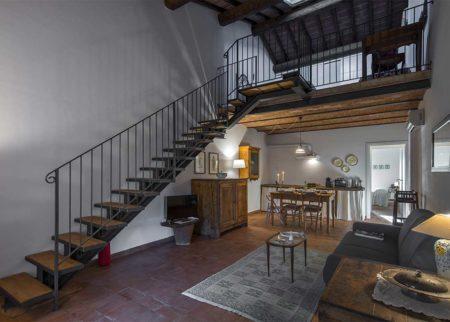 Panoramica appartamento Bellino, casa vacanze Le Fornaci Arezzo