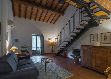 Dettaglio ingresso appartamento Bellino, casa vacanze Le Fornaci Arezzo