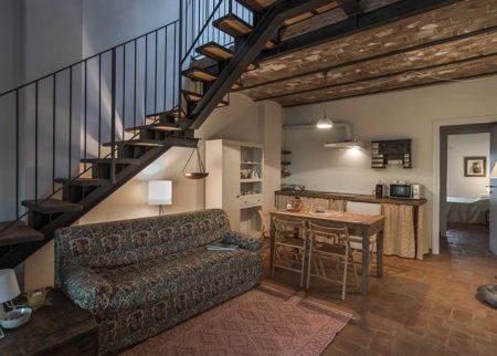 Dettaglio cucina appartamento Catola, casa vacanze Le Fornaci Arezzo