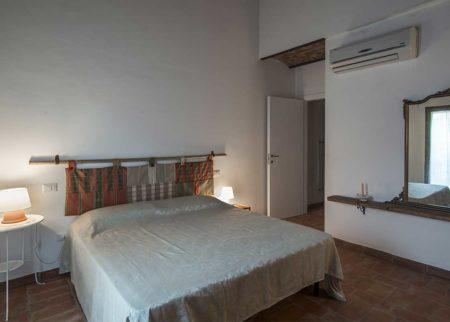 Camera da letto appartamento Catola casa vacanze Le Fornaci Arezzo