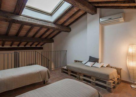 Mansarda appartamento Catola casa vacanze Le Fornaci Arezzo