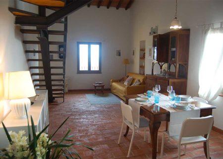 Dettaglio appartamento cilindro casa vacanze Le Fornaci Arezzo