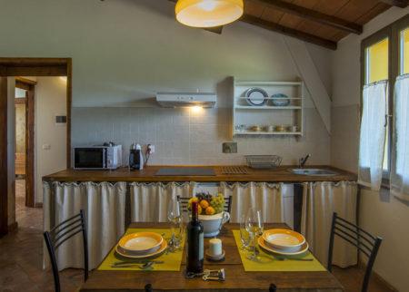 Cucina dettaglio appartamento Giambardino Le Fornaci Arezzo