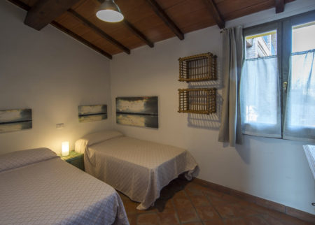 Camera da letto appartamento Giambardino Le Fornaci Arezzo