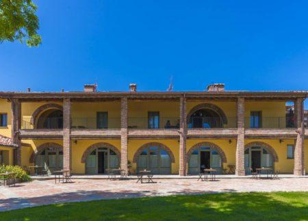 Panoramica casa vacanza Le Fornaci Arezzo