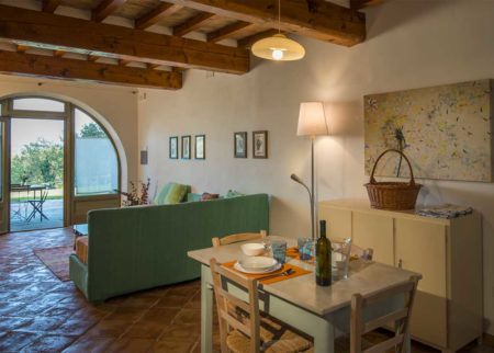 Dettaglio appartamento Lollo casa vacanze Le Fornaci Arezzo