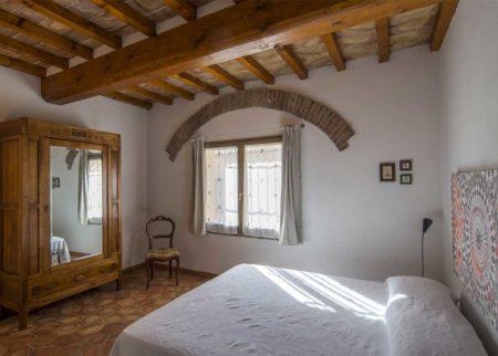 Dettaglio camera da letto Appartamento Lollo casa vacanze Le Fornaci Arezzo