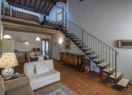 Dettaglio panoramico appartamento Nanni, casa vacanze Le Fornaci Arezzo