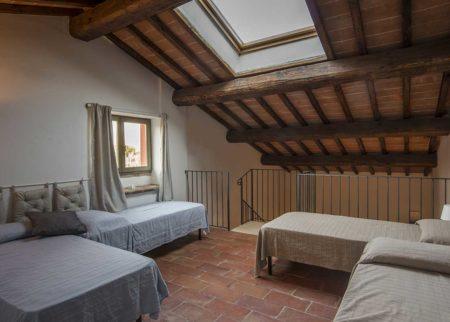 Mansarda appartamento Nanni, casa vacanze Le Fornaci Arezzo