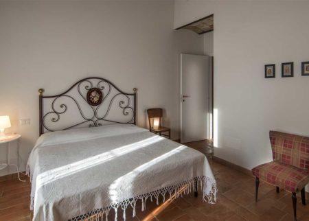 Dettaglio camera da letto appartamento Nanni, casa vacanze Le Fornaci Arezzo