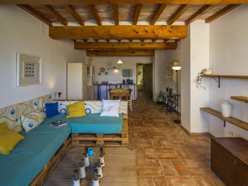 Dettaglio panoramico appartamento Roggiola, casa vacanze Le Fornaci Arezzo