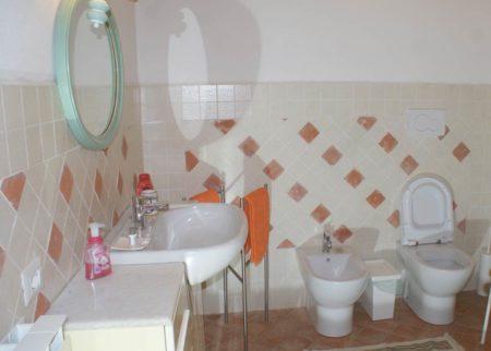 Dettaglio bagno appartamento Roggiola, casa vacanze Le Fornaci Arezzo