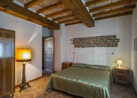 Dettaglio camera da letto appartamento Varisio casa vacanze Le Fornaci Arezzo
