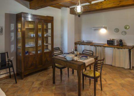 Dettaglio cucina appartamento Zi Toni casa vacanze Le Fornaci Arezzo
