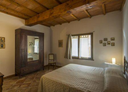 Dettaglio camera da letto appartamento Zi Toni casa vacanze Le Fornaci Arezzo