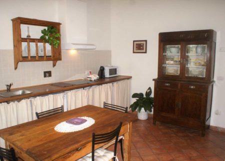 Sala da Pranzo appartamento Mattacchione Le Fornaci Arezzo