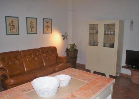 Soggiorno appartamento Mattacchione Le Fornaci Arezzo