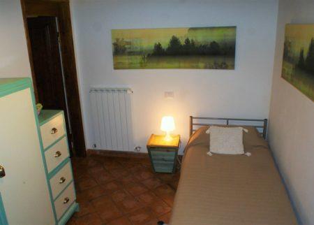 Camera da letto appartamento Mattacchione Le Fornaci Arezzo