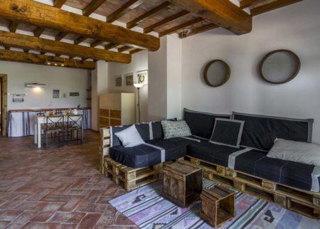 Soggiorno appartamento Tito Le Fornaci