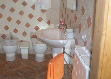 Bagno appartamento Tito casa vacanze Le Fornaci