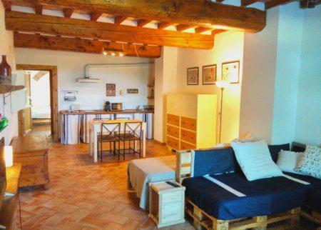 Appartamento Tito sala da pranzo casa vacanze Le Fornaci
