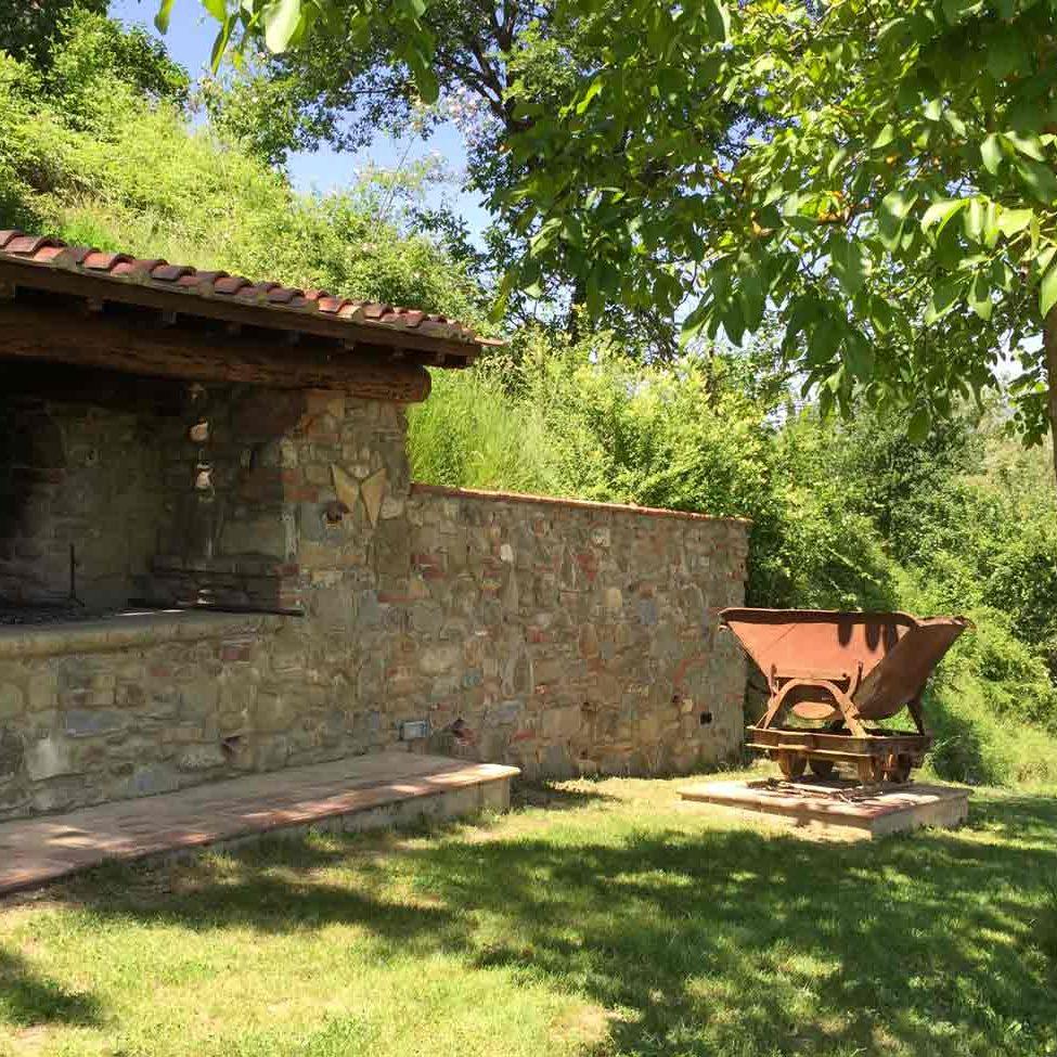 Area Barbecue casa vacanze Le Fornaci